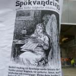 Inspirerande affisch från en stolpe på stan.
