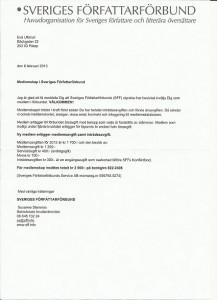 Sveriges författarförbund