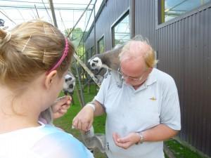 Lemurer med Lasse o Catharina