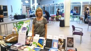 På andra Världars bokmässa under Ljungby Berättarfestival